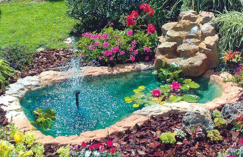 Laghetto da giardino teli e pompe ecco tutto quello che for Piante da laghetto