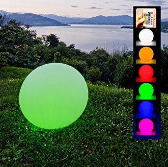 Sfere luminose led per giardino sfera palla luminosa d - Renna natalizia luminosa per giardino ...