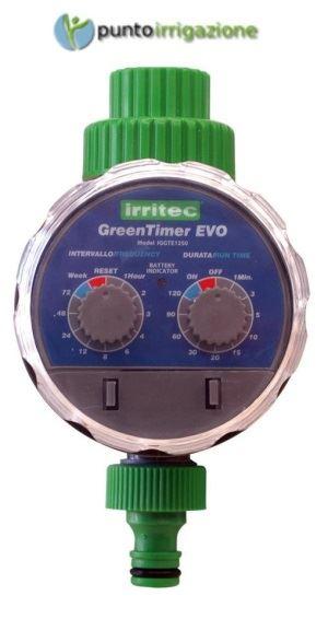 Programmatore A Batteria Green Timer Evo Att Rubinetto 3 4