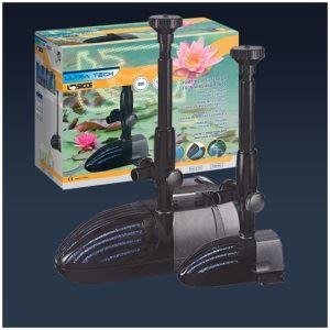 Pompe per laghetto e fontane pompa con filtro per for Pompa filtro laghetto